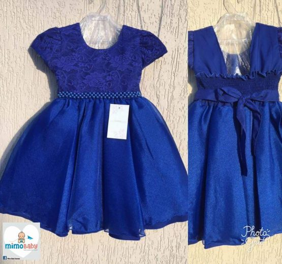 Vestido Luxo Azul Marinho
