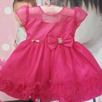 Vestido Luxo Rosa Pink