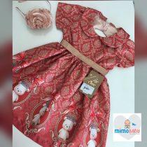 Vestido Marsala – Ursa Princesa