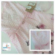 Vestido Rosa floral (EM PROMOÇÃO)