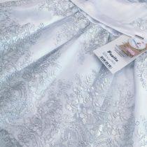 Vestido Branco com bordado prata/VESTIDO DAMINHA/DAMA