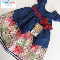 Vestido Azul Coelhinho