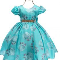 Vestido VERDE Floral