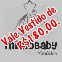 VALE VESTIDO DE R$180,00