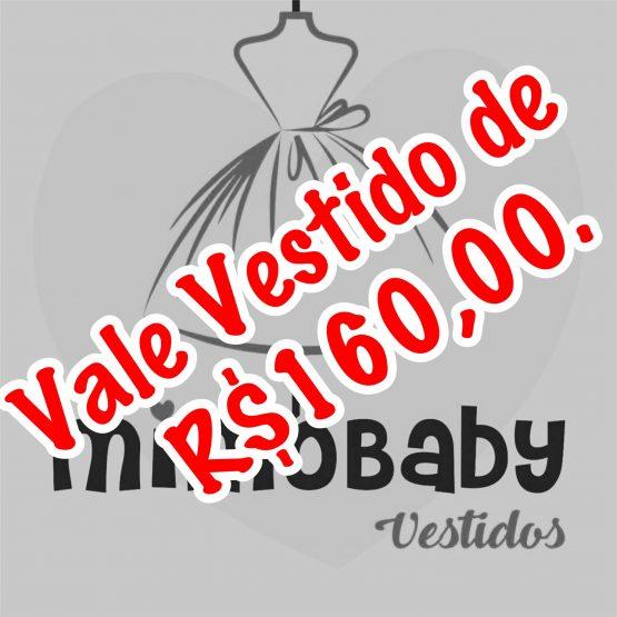 VALE VESTIDO DE R$160,00