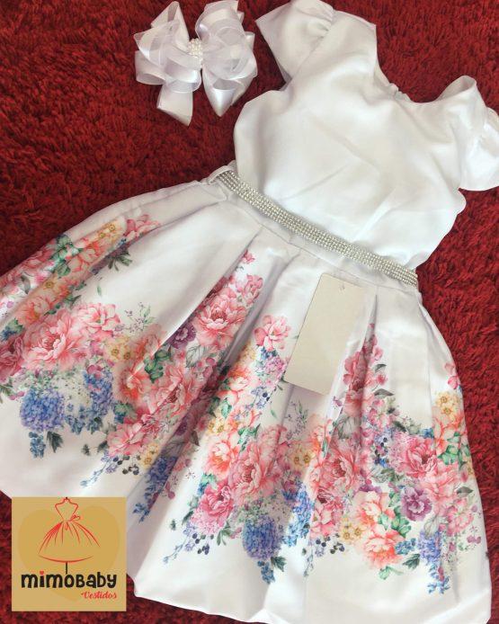Vestido Floral Branco