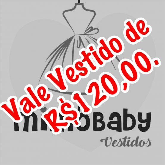 VALE VESTIDO DE R$120,00