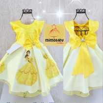 Vestido Temático Luxo Princesa Bela