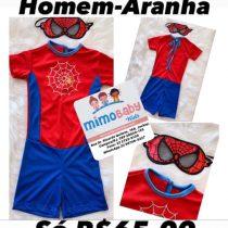 ROUPA DO HOMEM ARANHA / FANTASIA