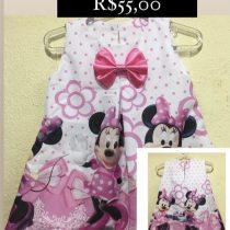 Vestido Temático Minie Rosa 3